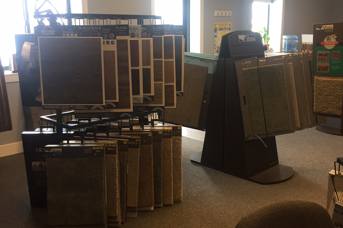 Gallagher's Carpet and Flooring Showroom in Traverse City MI